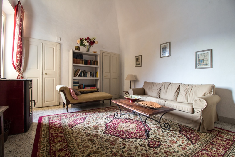 For sale in a former nunnery in the mountain village of Triora