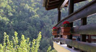 Säljes ett charmigt chalet i ett mycket fridfullt område nära Agaggio Inferiore!