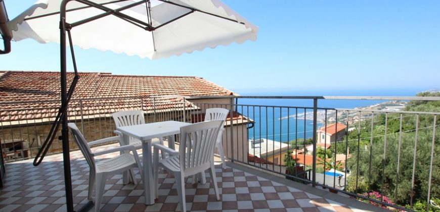 For sale a penthouse with two terraces!