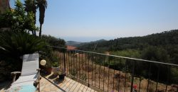 For sale a cozy apartment with large terrace and Sea view