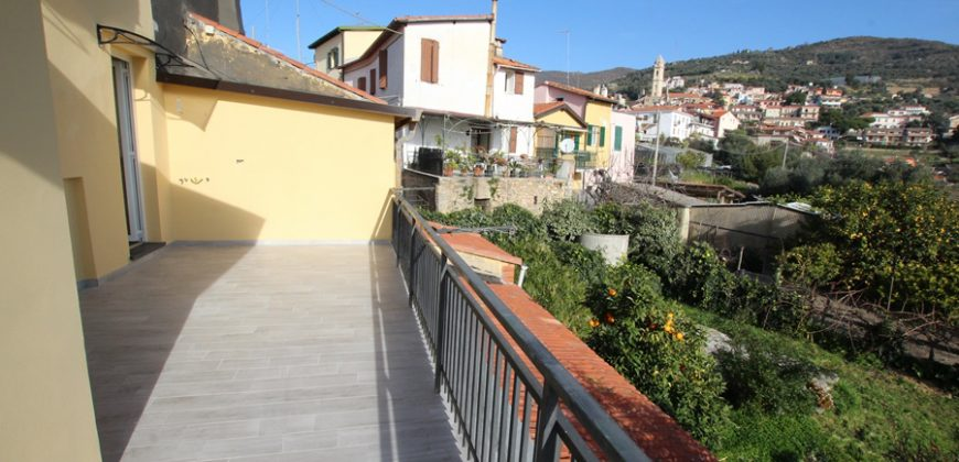 For sale an apartment with panoramic views
