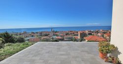 For sale a new villa with a fabulous sea view!