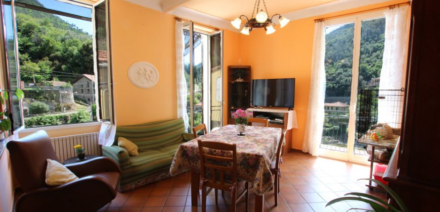 For sale an apartment with open views in Badalucco