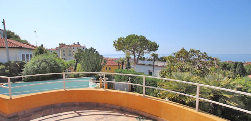 For sale an unique villa in Bordighera