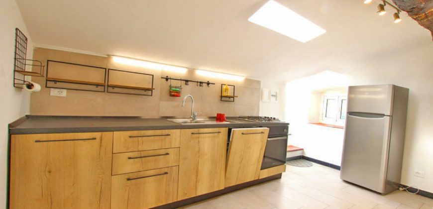 Till salu en nyrestaurerad lägenhet med stor terrass!